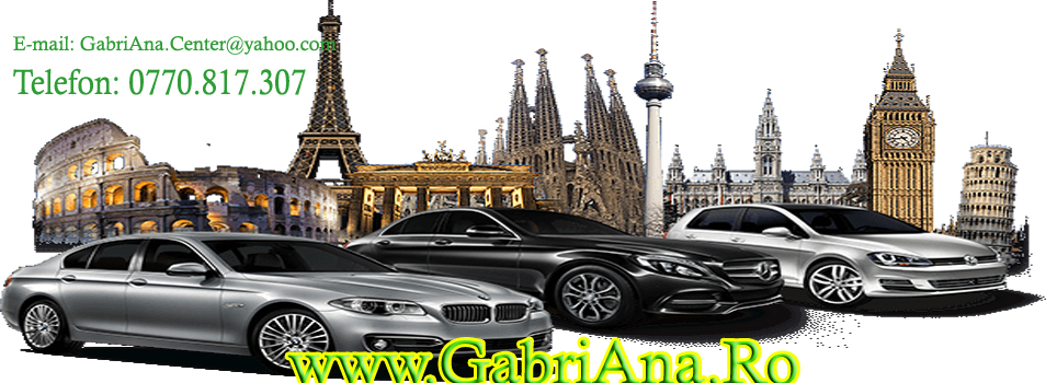 GabriAna Rent a Car in Pitesti